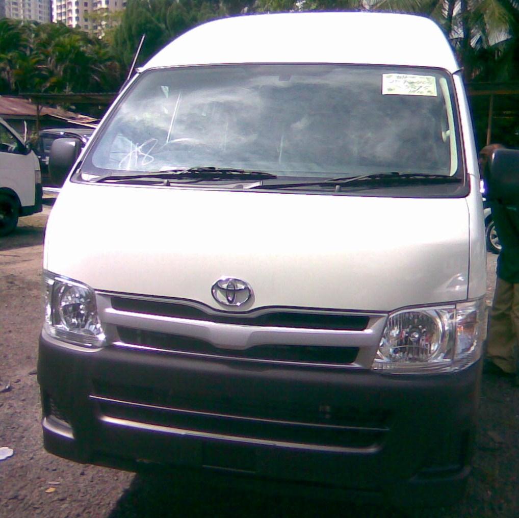 Toyota Hiace Vans