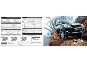 Note HILUX brouche 1r