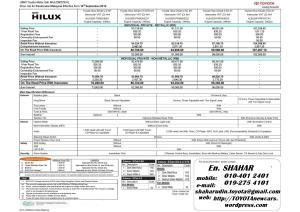 Note HILUX ip